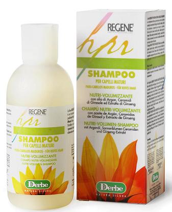 Derbe Regene шампунь для тусклых, сухих волос и кожи с маслом арганы