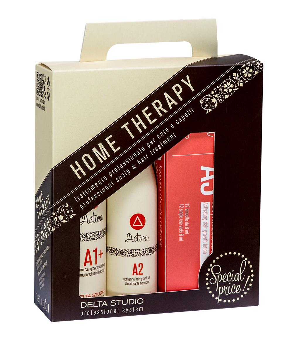 Delta BKB Activa Нome Therapy A1 A2 A3 набор домашний уход от выпадения волос
