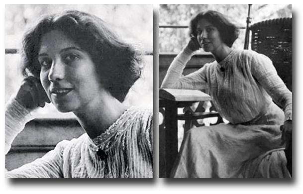 Элизабет Арден. 1910 год.