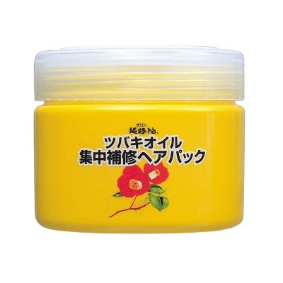 Kurobara Camellia Oil Concentrated Hair Pack Интенсивно восстанавливающая маска для повреждённых волос