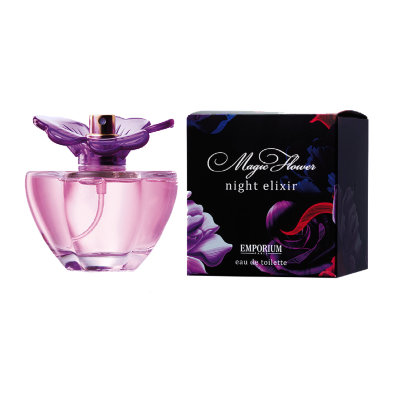 Night elixir женская туалетная вода Magic Flower Emporium Brocard