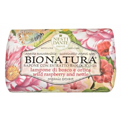 Nesti Dante Bionatura Wild Raspberry and Nettle мыло малина и крапива